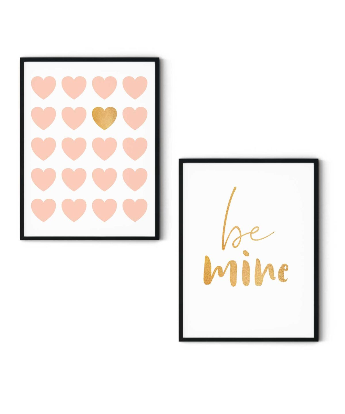Be-Mine-Poster-Set-White-Background-Duwart