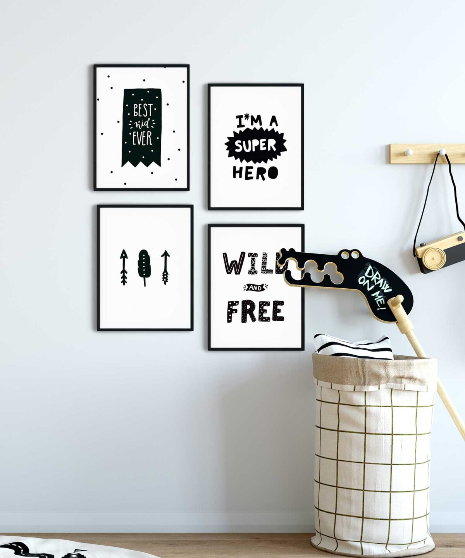 Brave World Çocuk Odası Poster Set