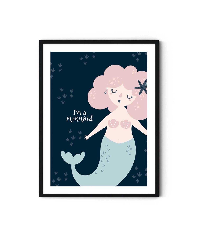 Cute-Mermaid-Poster-Duwart