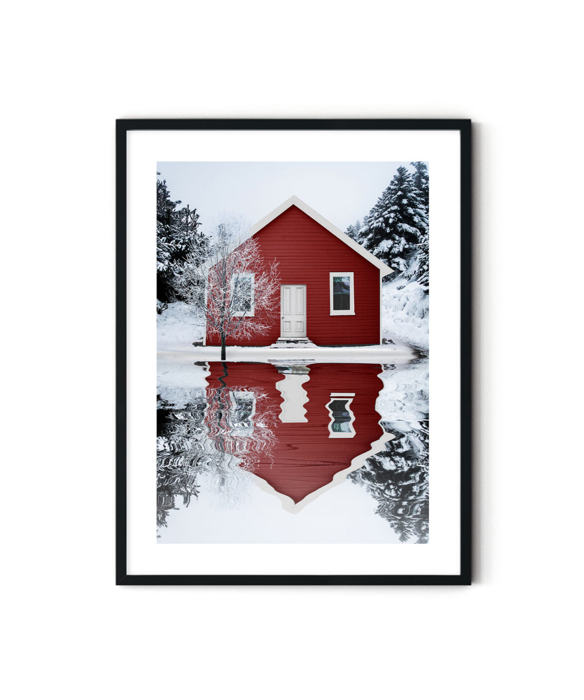 Red House Poster Tablo
