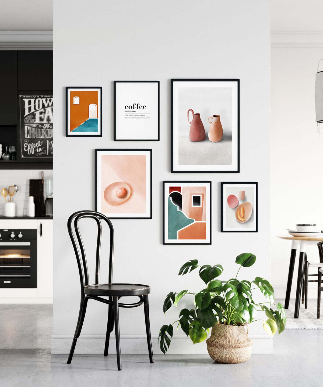 Pottery Poster Set İskandinav Tarzı Modern Minimal Poster Set