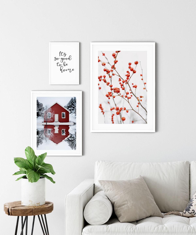Red House Poster Tablo Seti