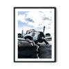 Vintage Aircraft No 3 Poster
