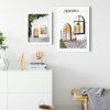 Atelier Poster Set -Beyaz Çerçeveli Tablo Seti