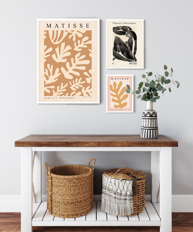 Henri Matisse eserlerinden İlham Aldığımız Poster Seti
