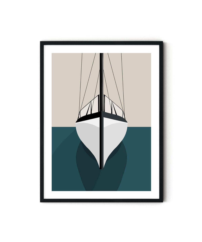 Duwart İllüstrasyon Port Poster