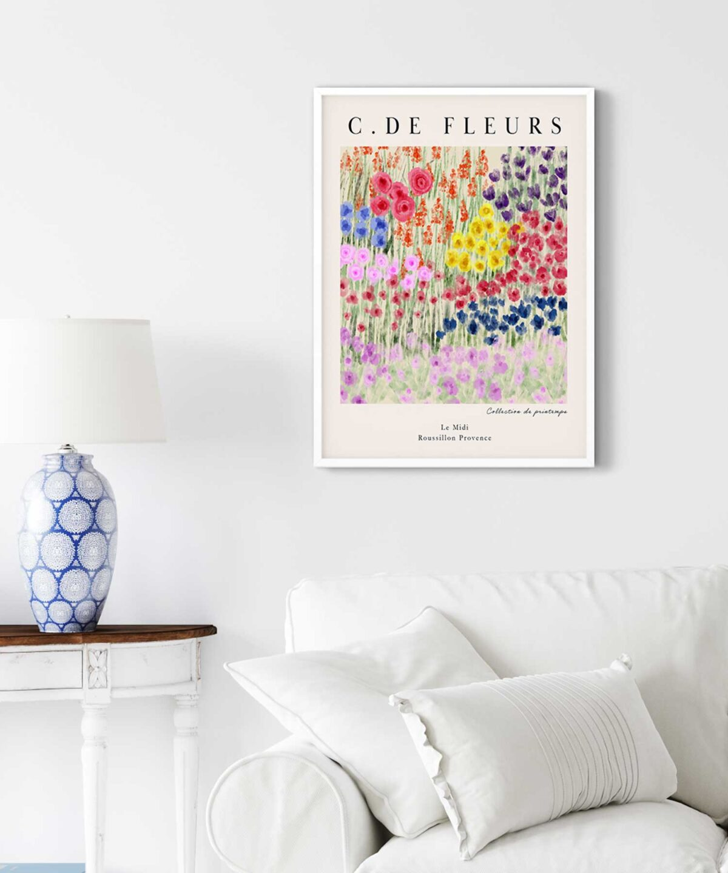 Champ De Fleurs Poster
