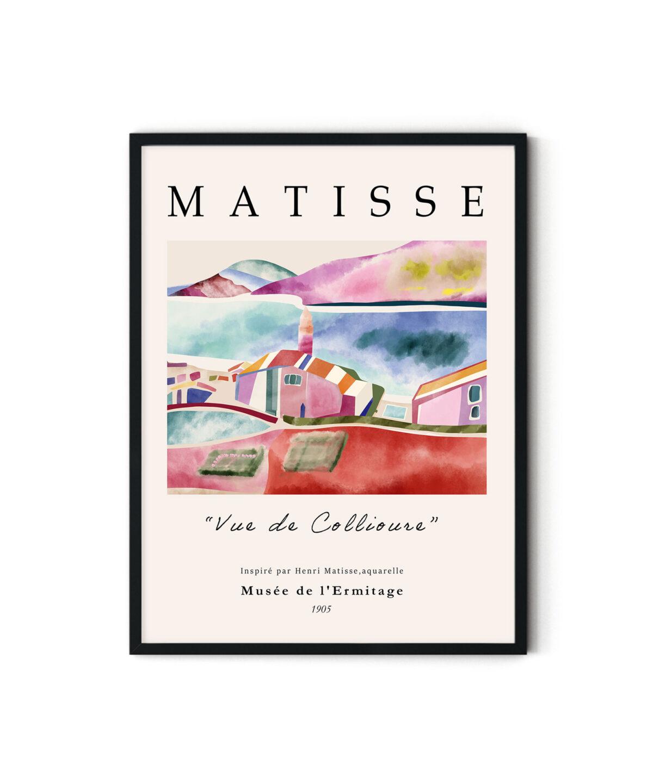 Vue de Collioure No 1 Poster