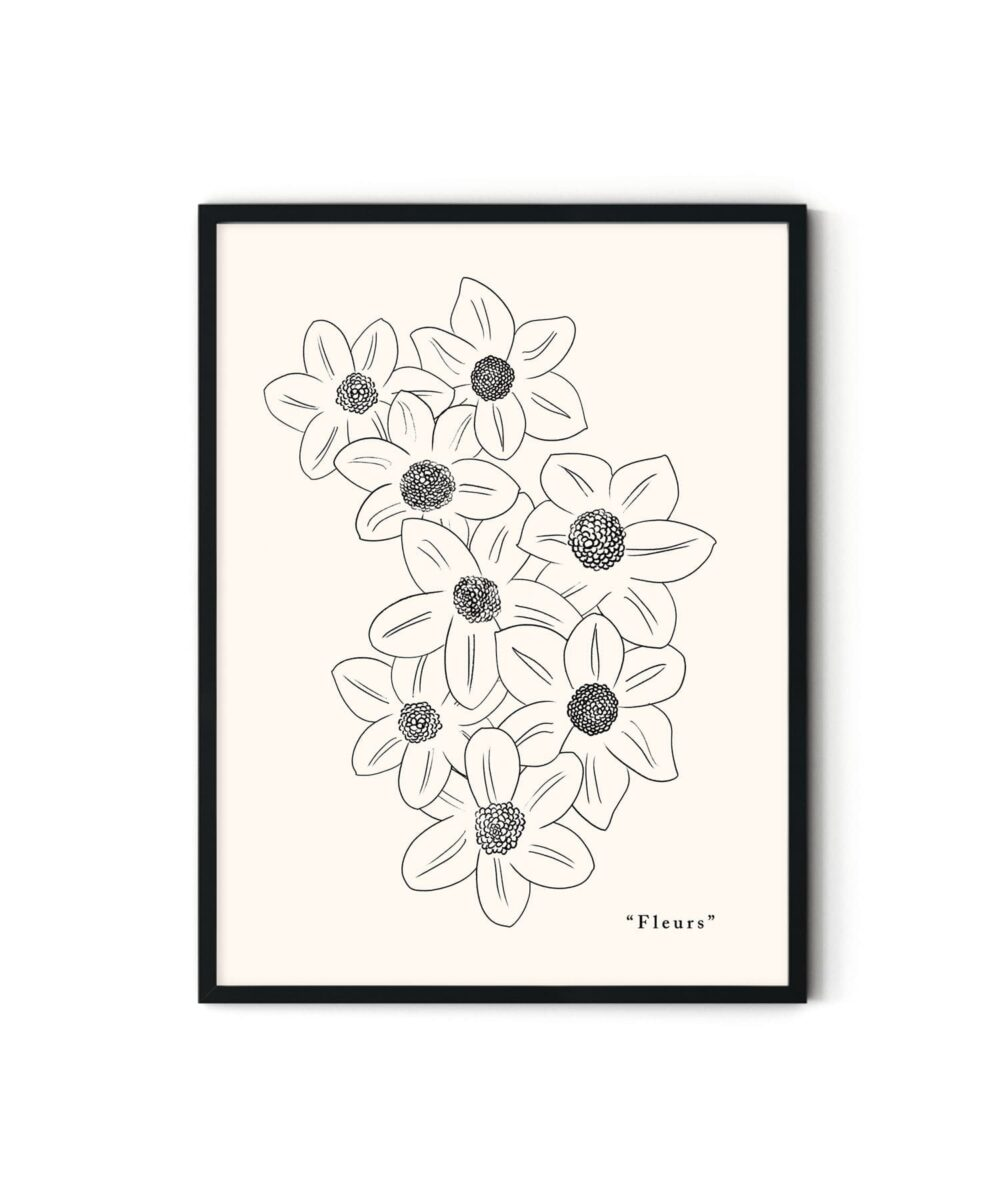 Blooming Poster