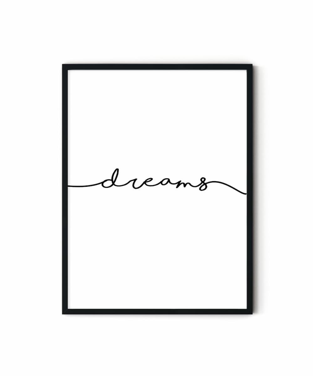 Dreams-Motto-Poster