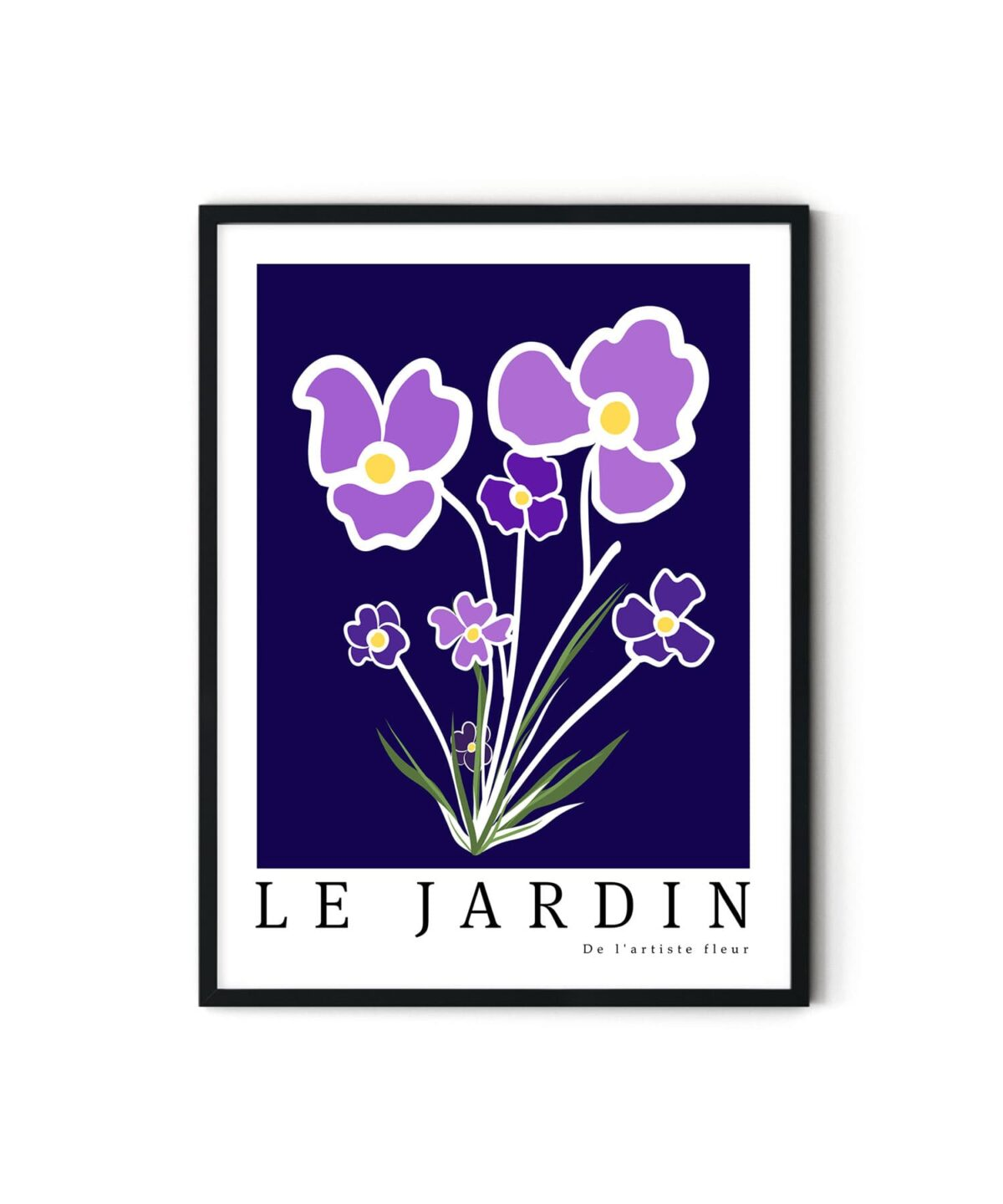 Purple-Flowers-Poster