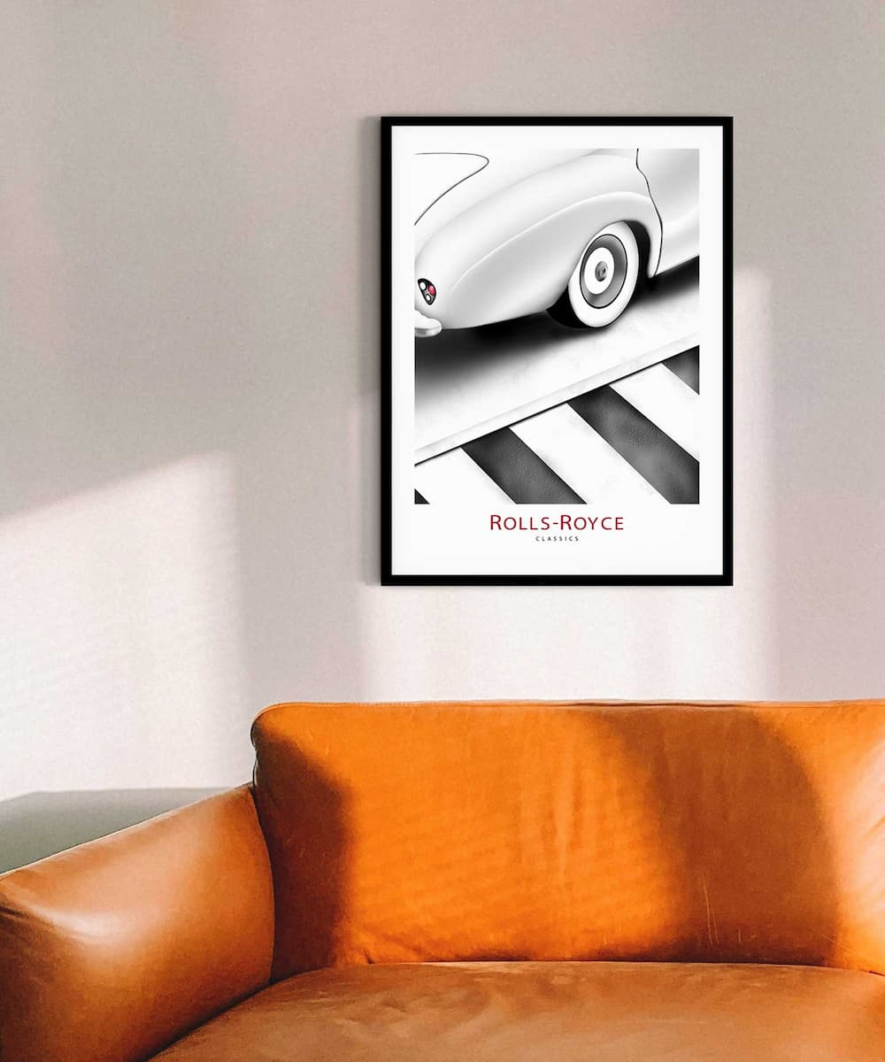 Rolls-Royce-Poster-on-Wall-Black-Framed-Duwart