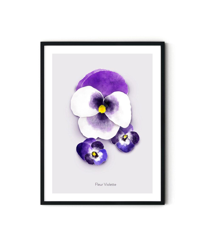 Violette Poster Duwart