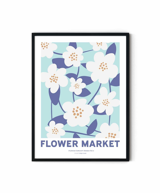 Spring Blooms Poster Duwart