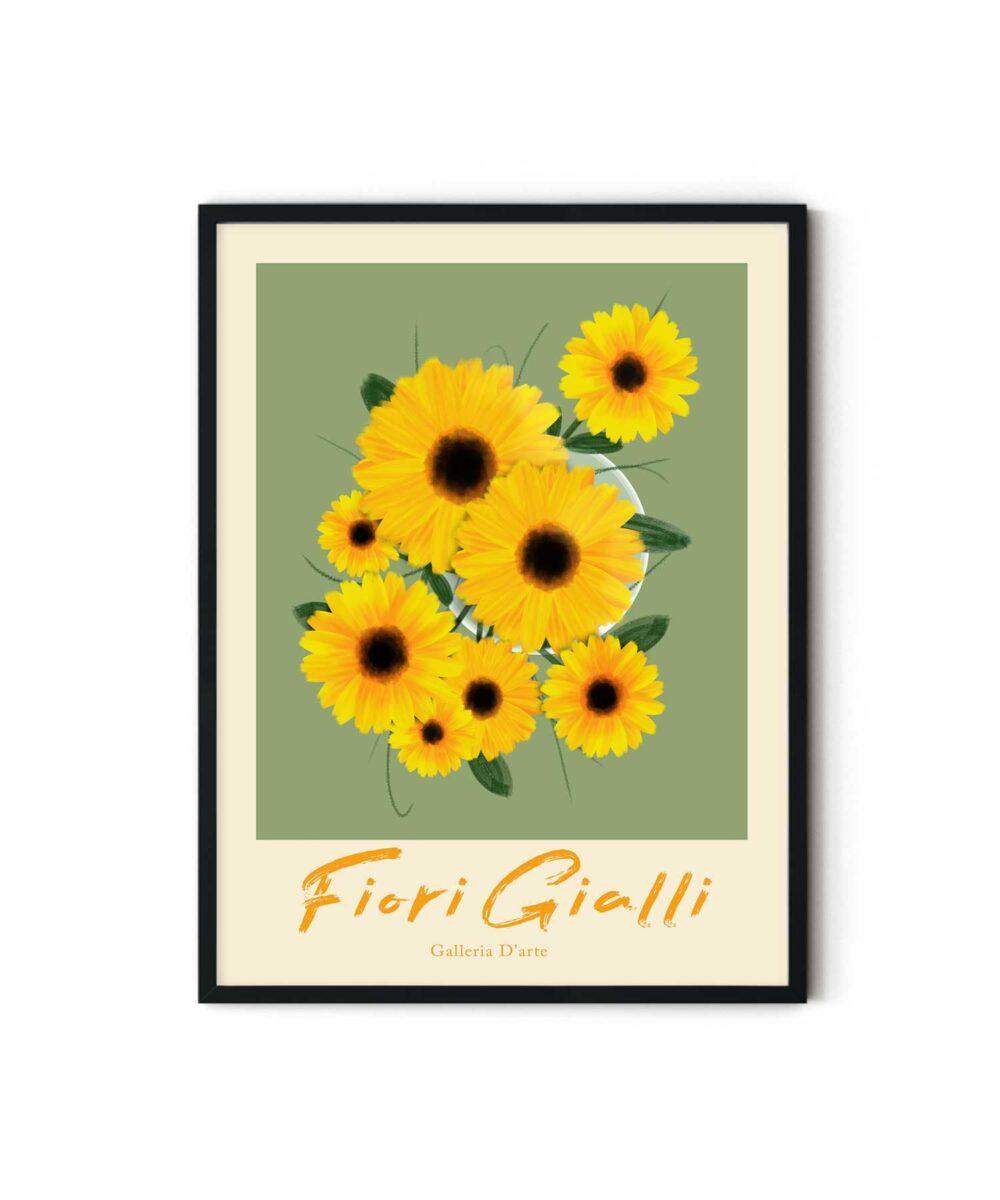 Sun-Flowers-Poster-Duwart