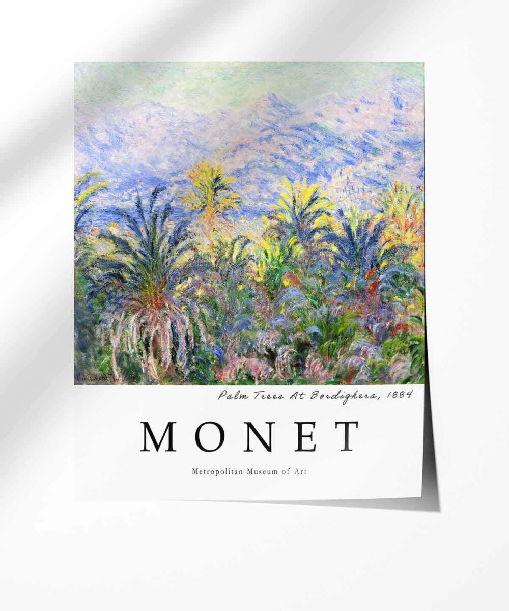 MONET-Palm-Trees-At-Bordighera-Poster-Photopaper-Duwart