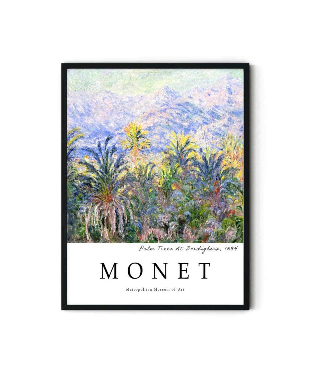Monet-Palm-Trees-At-Bordighera-Duwart