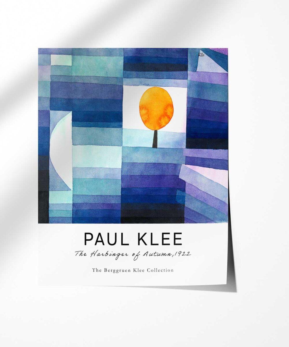 Paul-Klee-The-Harbinger-of-Autumn-Poster-Photopaper-Duwart