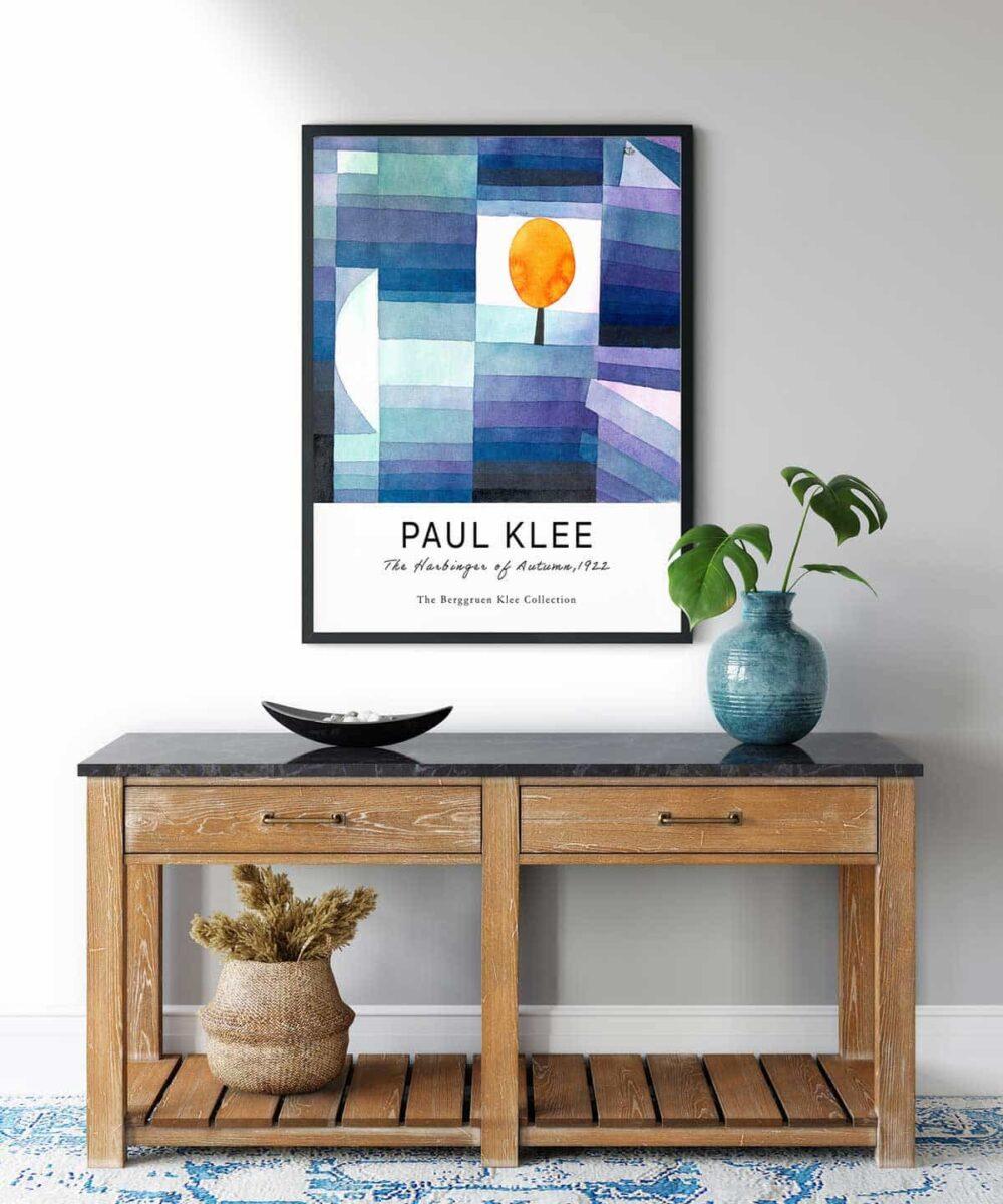 Paul-Klee-The-Harbinger-of-Autumn-Poster-Wooden-Framed-Duwart (1)