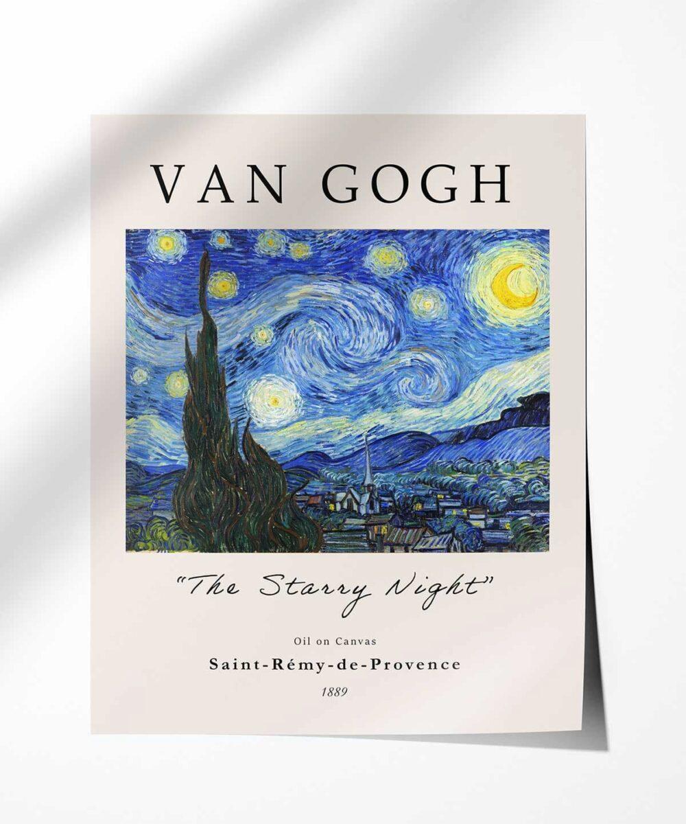 The-Starry-Night-Poster-Photopaper-Duwart