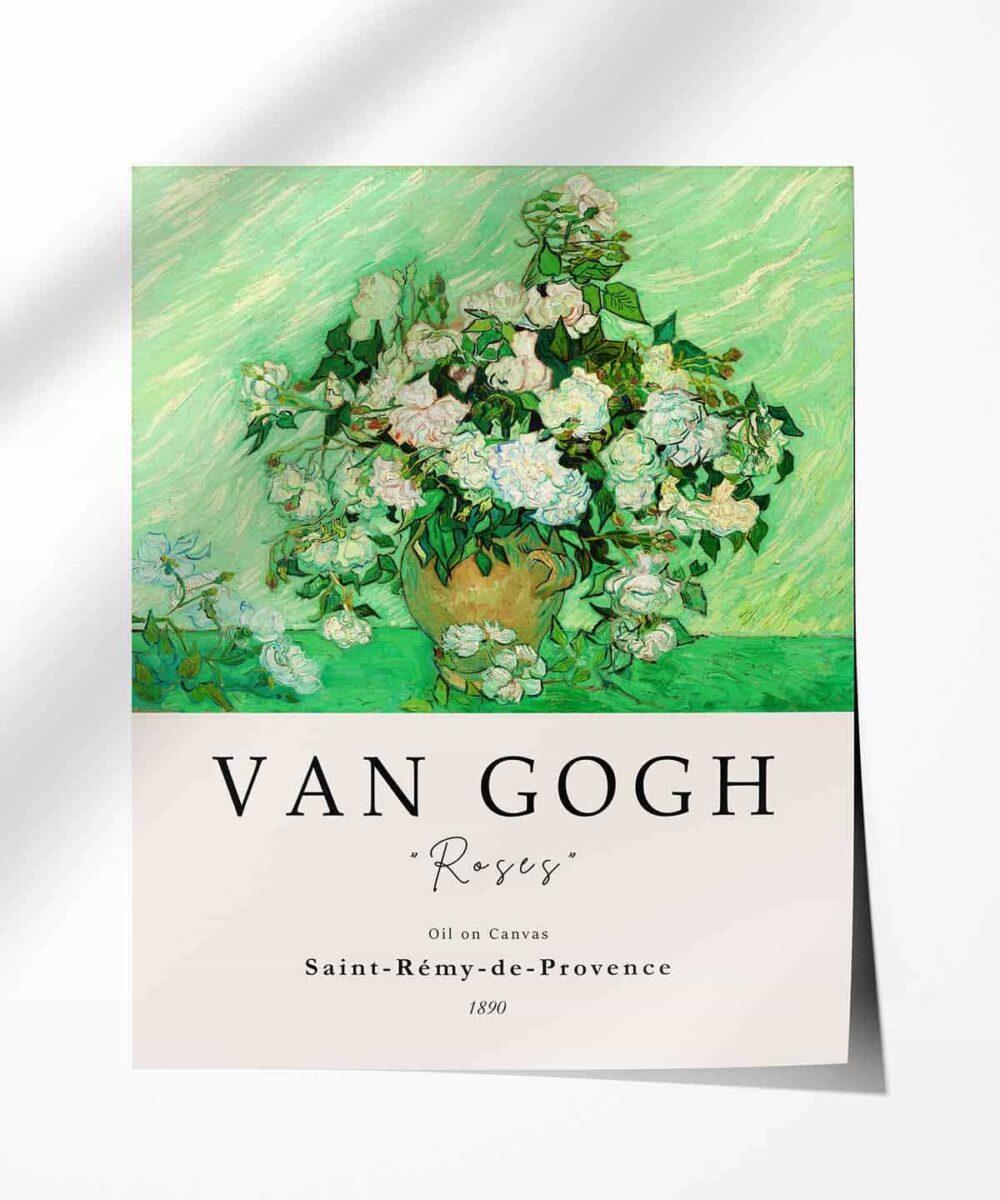 Van-Gogh-Roses-Poster-Photopaper-Duwart
