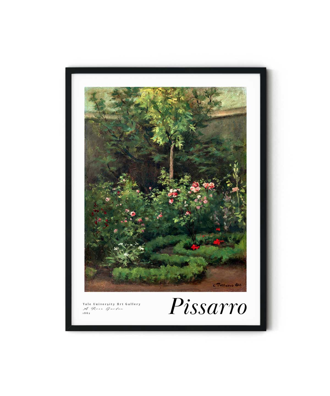 Camille-Pissarro-A-Rose-Garden-Duwart