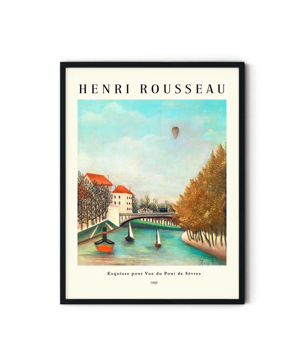 Henri-Rousseau-View-of-the-Pont-de-Sevres-Poster-New-Duwart