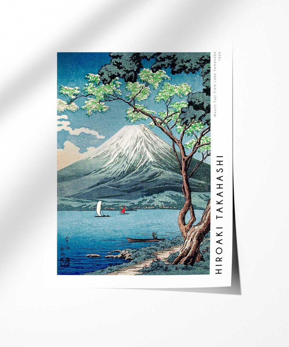 Hiroaki-Takahashi-Mount-Fuji-from-Lake-Yamanaka-Poster-Photopaper-Duwart