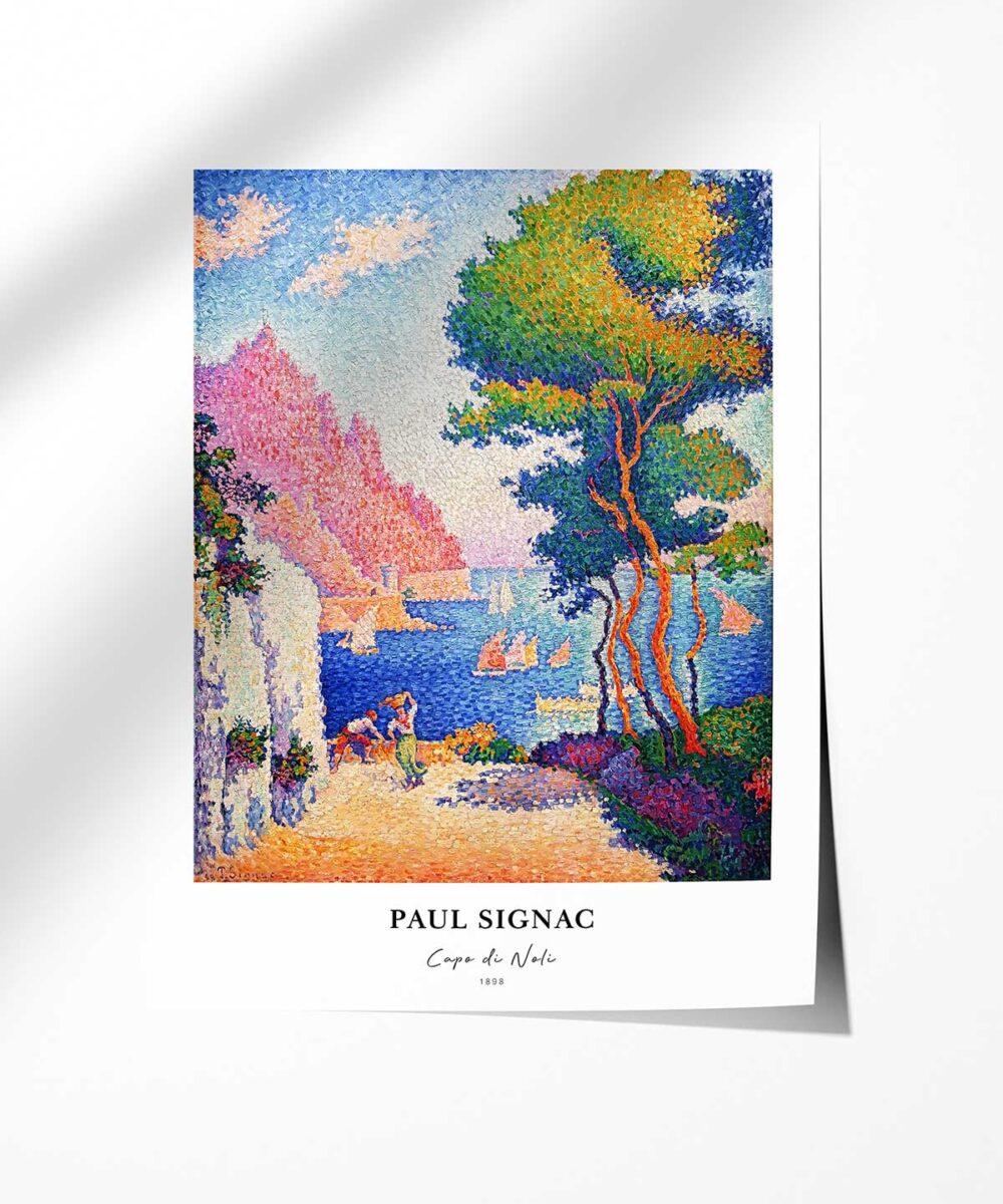 Paul-Signac-Capo-Di-Noli-Poster-Photopaper-Duwart