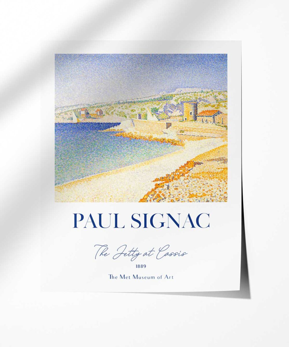Paul-Signac-The-Jetty-at-Cassis-Poster--Photopaper-Duwart