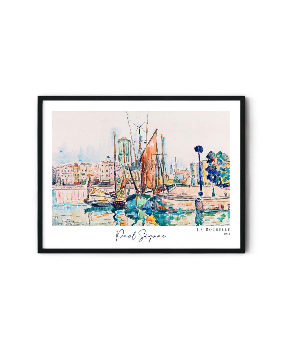 Paul-Signac-la-Rochelle-Poster-Duwart