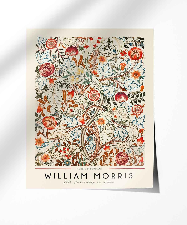 William-Morris-Linen-Print-Poster-Photopaper-Duwart