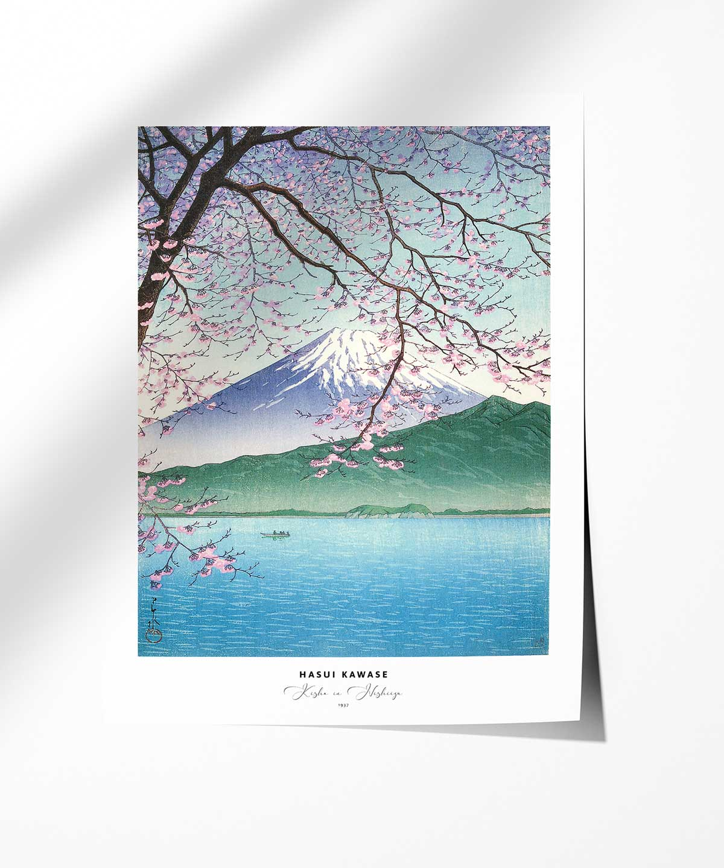Hasui-Kawase-Kisho-in-Nishiizu-Poster-Photopaper-Duwart