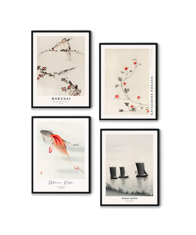 Japanese-Art-Poster-Set-WB-Gallery-Wall-Duwart