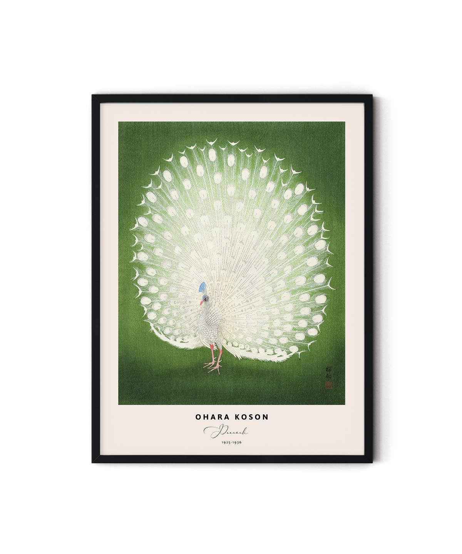 Ohara-Koson-Peacock-Poster-Duwart