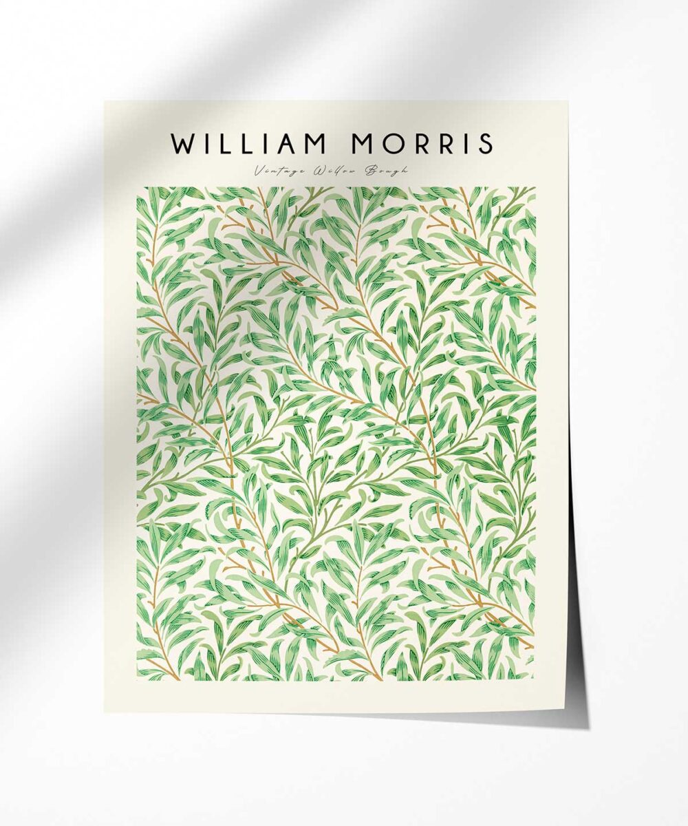 William-Morris-Vintage-Willow-Bough-Poster-Photopaper-Duwart