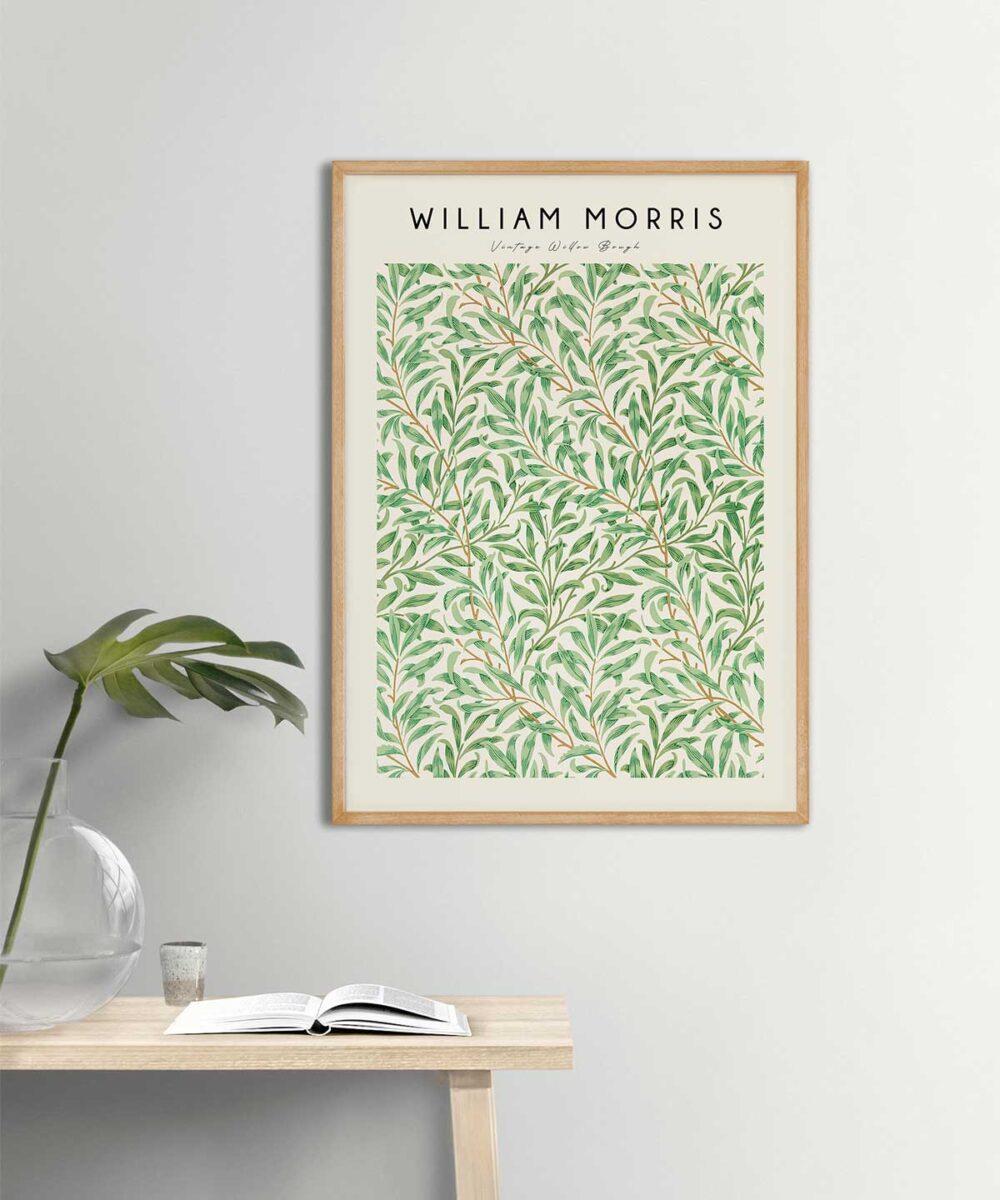 William-Morris-Vintage-Willow-Bough-Poster-Wooden-Framed-on-Duwart