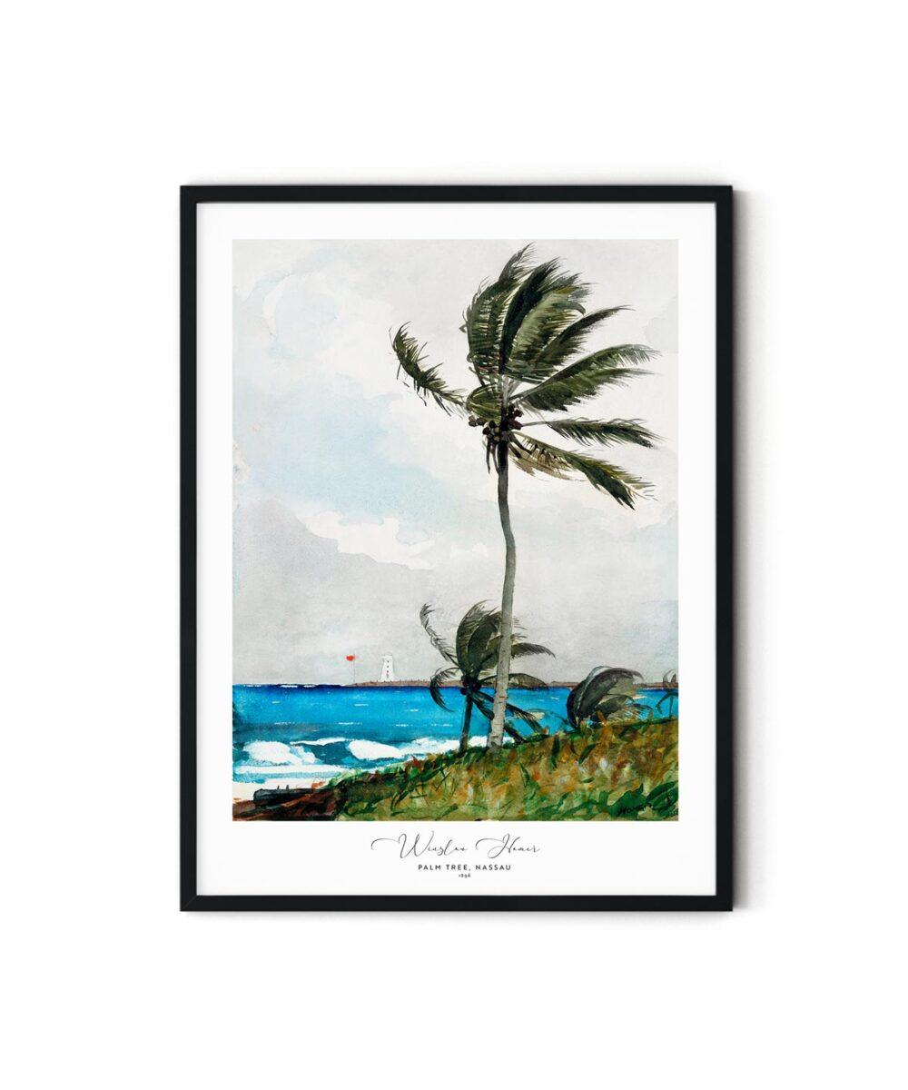 Winslow-Homer-Palm-Tree-Nassau-Poster-Duwart