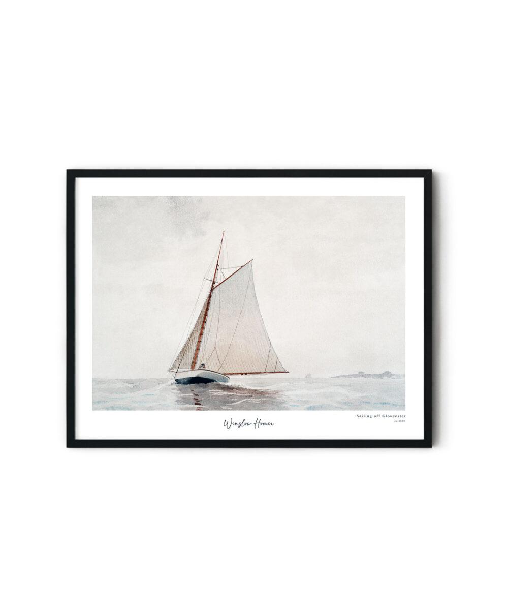 Winslow-Homer-Sailing-off-Gloucester-Poster-Duwart