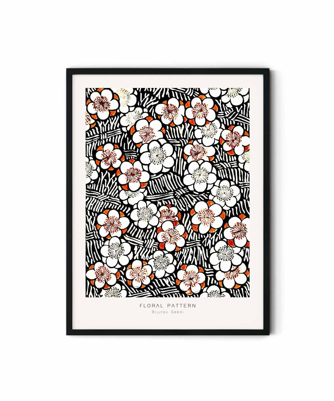 Bijutsu-Sekai-Floral-Pattern-Poster-Duwart