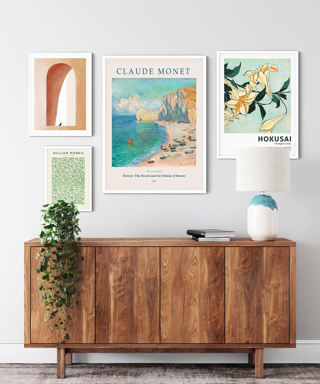 End-of-Summer-Poster-Set---White-Framed-Duwart