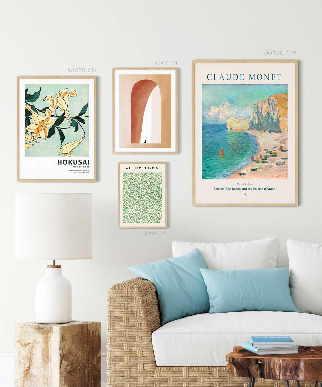End-of-Summer-Poster-Set-Wooden -Framed-Duwart