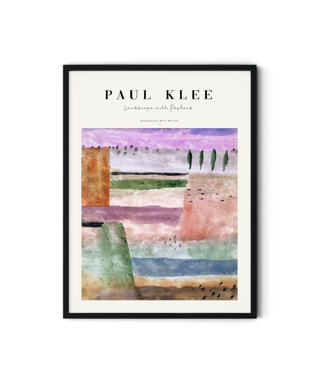Paul-Klee-Landscape-with-Poplars-Poster-Duwart