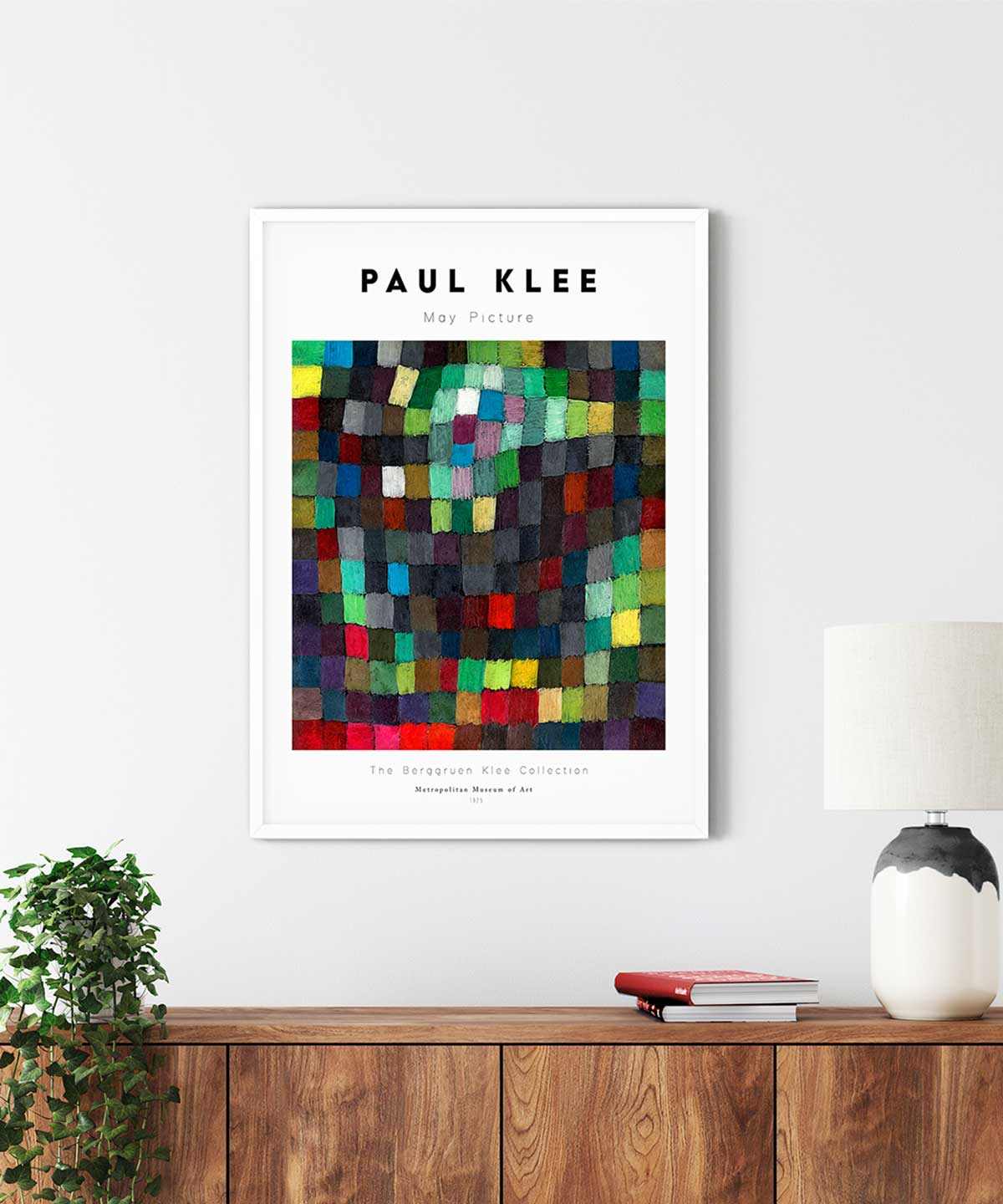 Paul-Klee-May-Picture-Poster-White-Framed-Duwart