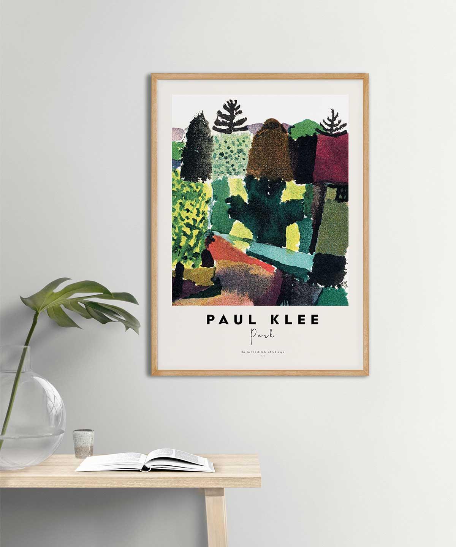Paul-Klee-Park-Poster-on-Wall-Wooden-Frame-Duwart