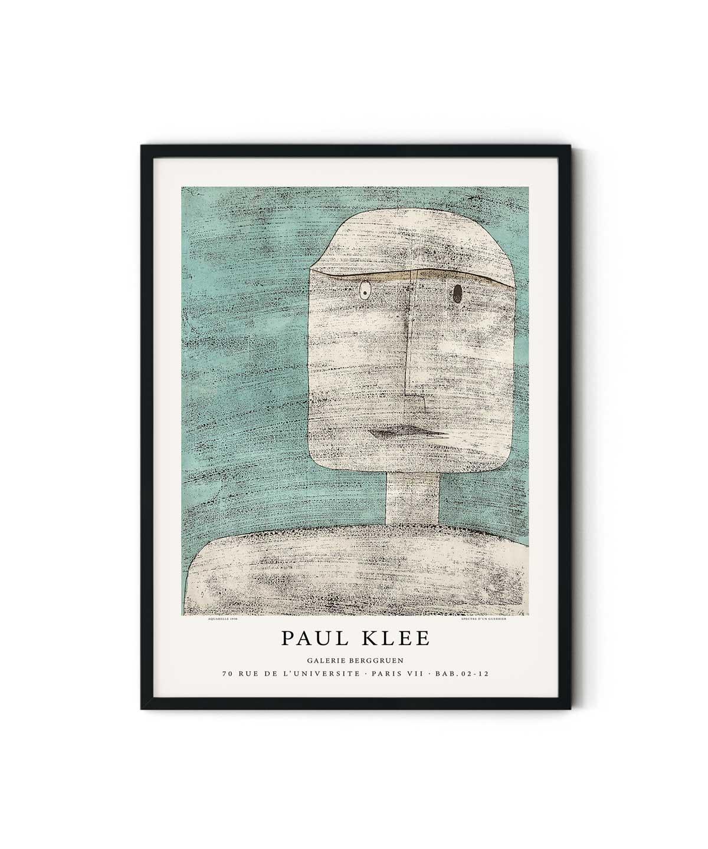 Paul-Klee-Spectre-Dun-Guerrier-Poster-Duwart