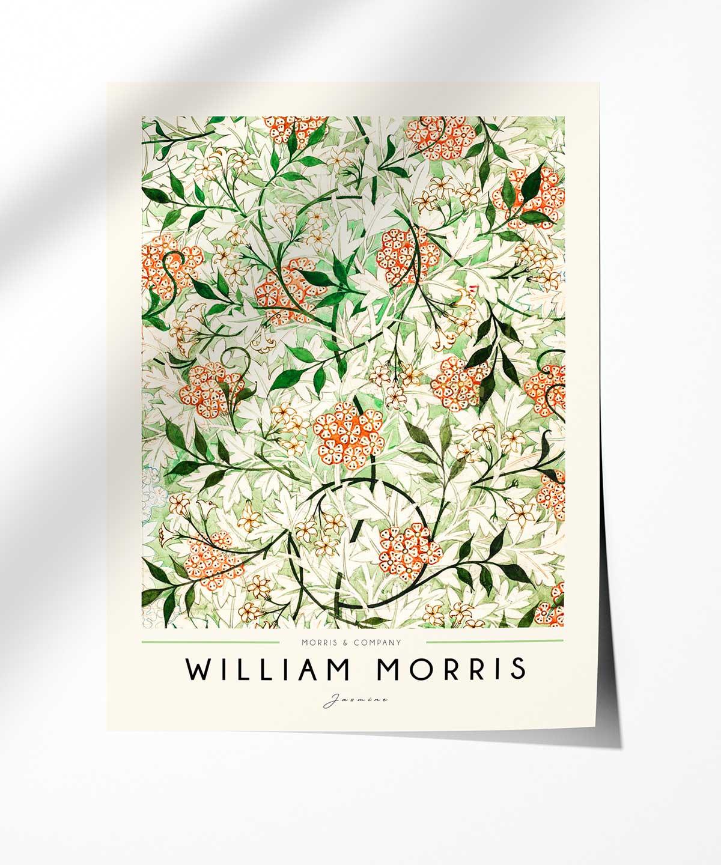 William-Morris-Jasmine-Poster-Photopaper-Duwart