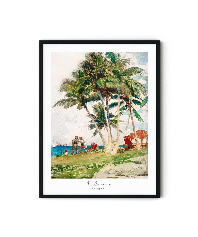 Winslow-Homer-The-Buccaneers-Poster-Duwart