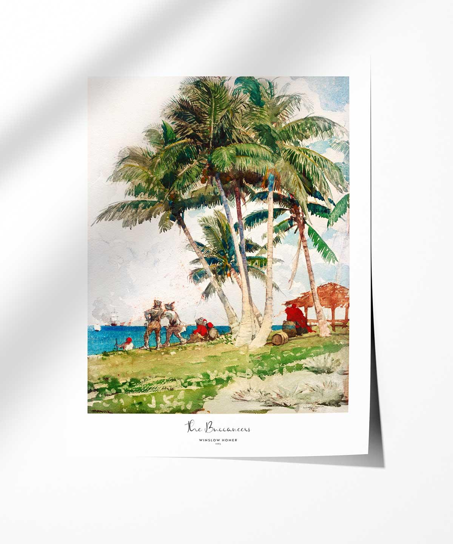 Winslow-Homer-The-Buccaneers-Poster-Photopaper-Duwart